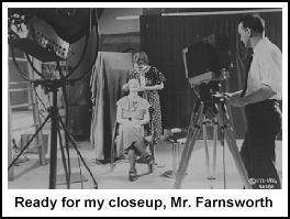 Ready for my closeup, Mr. Farnsworth
